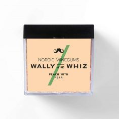 Wally and Whiz - Pfirsich mit Birne, Weingummi, Box