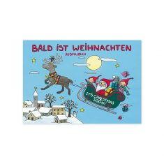 Malbuch - Bald ist Weihnachten