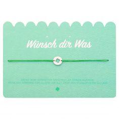 Wunscharmband - Kleeblatt