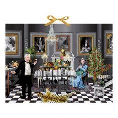 Zettel-Adventskalender - Christmas Dinner for One