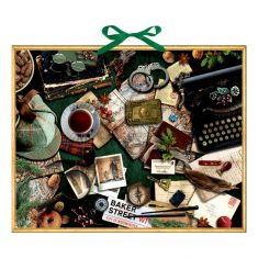Zettel-Adventskalender - Krimi-Advent mit Sherlock Holmes
