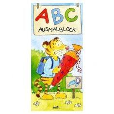 ABC-Ausmalblock, groß