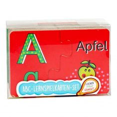 ABC-Lernspielkarten-Set - Volle Kraft voraus, 70-teilig