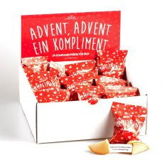 Komplimente-Keksbox - Advent, Advent