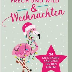 Adventskalender Kartenbox: Frech und wild & Weihnachten