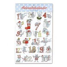 Adventskalendersticker - Mäuse, krima & isa®