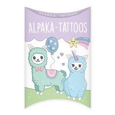 Alpaka-Tattoos