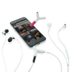 Audio Splitter und Touchpen