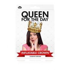 Aufblasbare Krone - Queen for the day