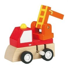 Aufziehfigur - Holzauto