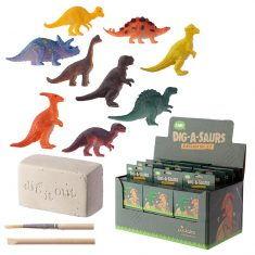 Ausgrabungsset - Mini Dinosaurier, Dig-A-Saurs