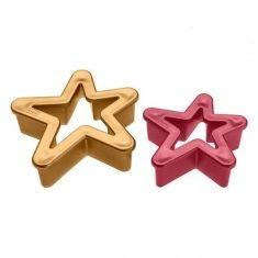 Ausstechformen - Sterne, 2er-Set