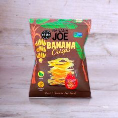 Bananen Chips -  Banana Crisps Hickory BBQ, Banana Joe