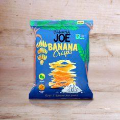 Bananen Chips -  Banana Crisps Sea Salt, Banana Joe
