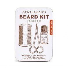 Bartpflegeset - Gentleman's Beard Set, 3-teilig