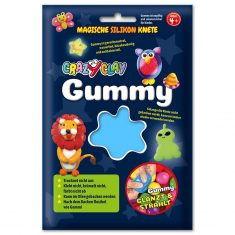 CrazyClay Gummy - Basic-Knete Hellblau