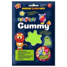 CrazyClay Gummy - Basic-Knete Hellgrün