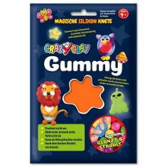 CrazyClay Gummy - Basic-Knete Orange