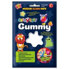 CrazyClay Gummy - Basic-Knete Weiß