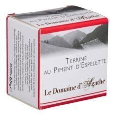 Bauernpastete - Terrine au Piment d'Espelette