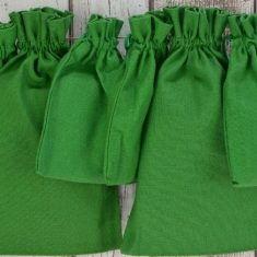 Baumwollbeutel grün, 6er-Set