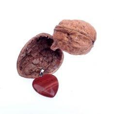 Überraschungsnuss - Herzanhänger