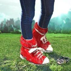 Überschuhe - Festival Schuhe, rot