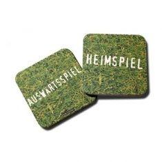 Bierdeckel  - Heimspiel / Auswärtsspiel