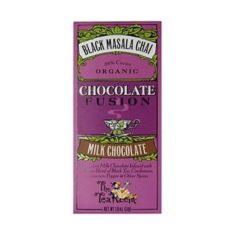 Bio-Schokolade - Black Masala Chai, 38% Kakao