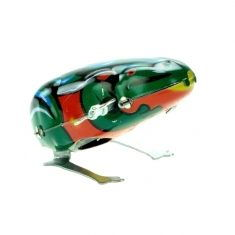 Blechfrosch hüpfend, mit festem Schlüssel