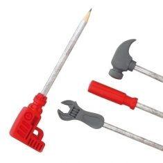 Bleistift mit Radiergummi - Werkzeug