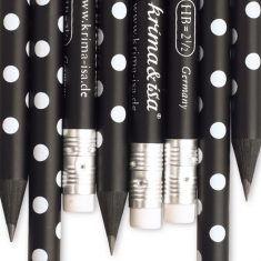 Bleistift - Punkte schwarz