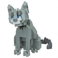 Nanoblock Mini Collection - Katze Russisch blau