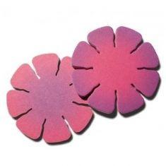 Blüten-Bierdeckel (Rosa Rot)