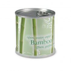 Blumendose Bambus