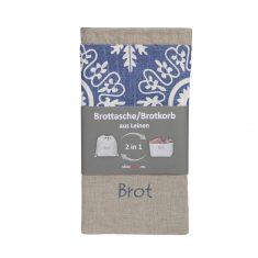 Brottasche/Brotkorb aus Leinen 2 in 1, slowroom