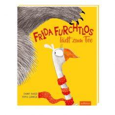 Buch - Frida Furchtlos lädt zum Tee