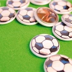 Button - Fußball