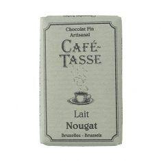 Café Tasse Schokoladentäfelchen - Nougat