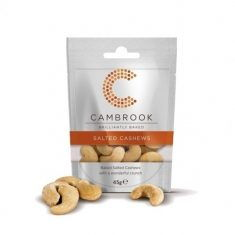 Cashewkerne - Salted Cashews Brilliantly Baked, 45gr