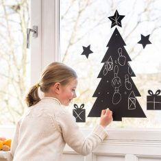 Tafelkreide-Aufkleber - Christmas Tree