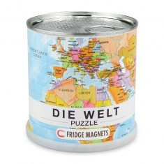 City Puzzle Magnets Die Welt, 100 Teile
