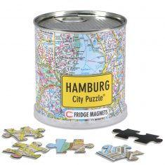 City Puzzle Magnets Hamburg, 100 Teile