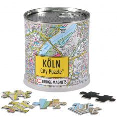 City Puzzle Magnets Köln, 100 Teile