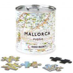 City Puzzle Magnets Mallorca, 100 Teile