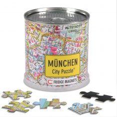 City Puzzle Magnets München, 100 Teile
