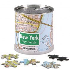 City Puzzle Magnets New York, 100 Teile