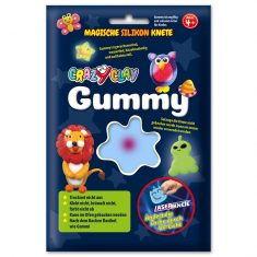 CrazyClay Gummy - Laser-Knete Blau