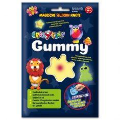 CrazyClay Gummy - Laser-Knete Gelb