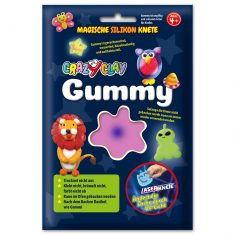 CrazyClay Gummy - Laser-Knete Violett
